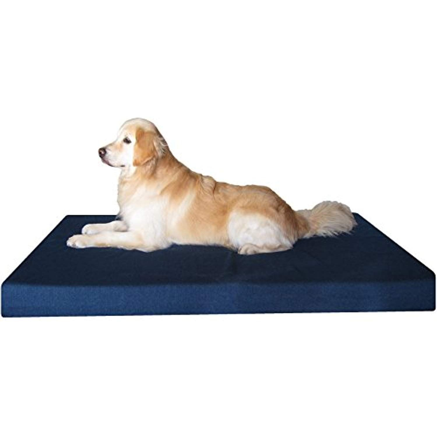 Dogbed4less Heavy Duty Xxl Orthopedic Gel Memory Foam Pet Bed With Waterproof Internal Case 2 Washable Denim Exte In 2020 Snuggle Dog Bed Dog Bed Memory Foam Dog Bed