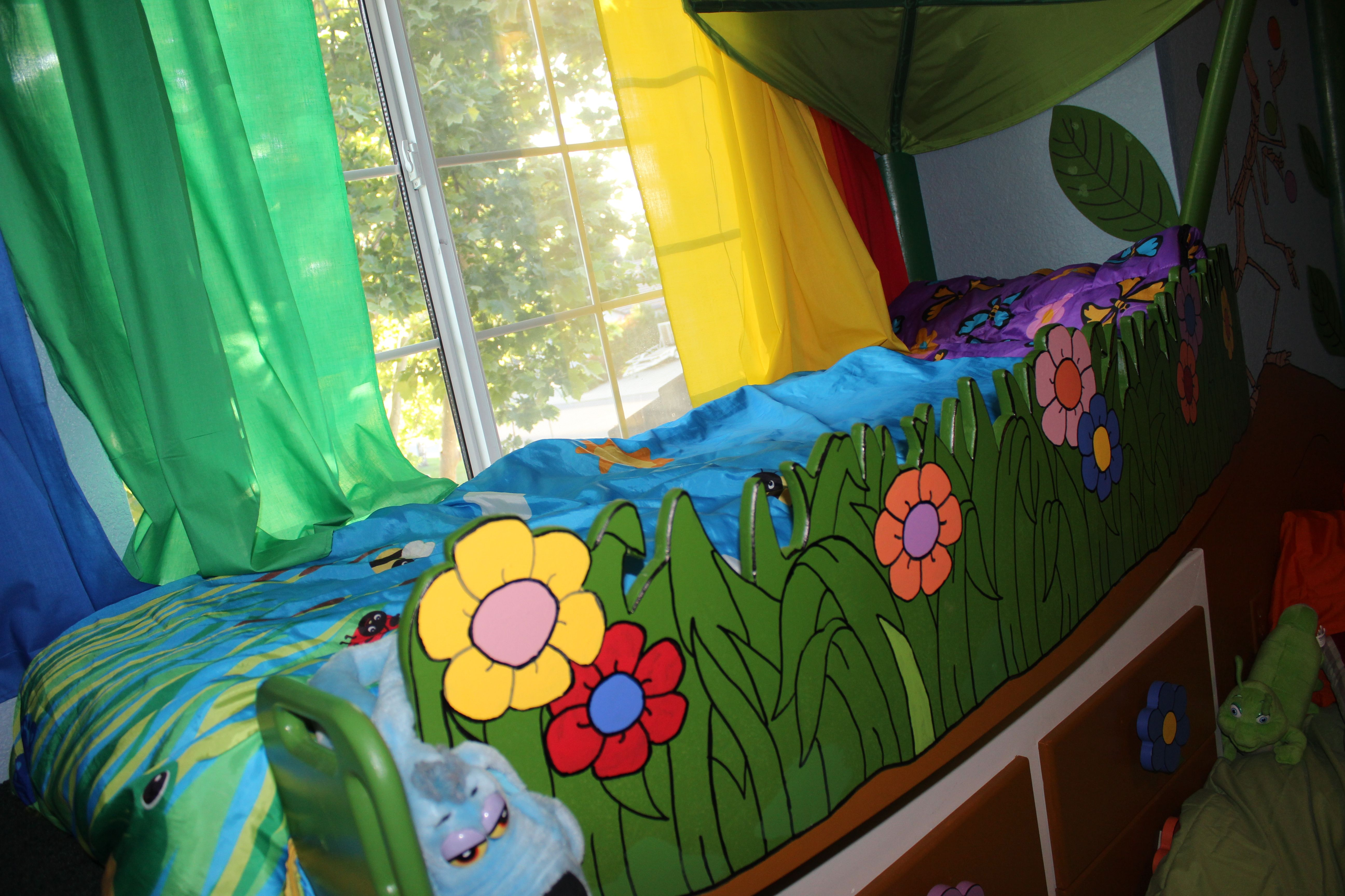 Bug's Room! Room, Decor, Bed
