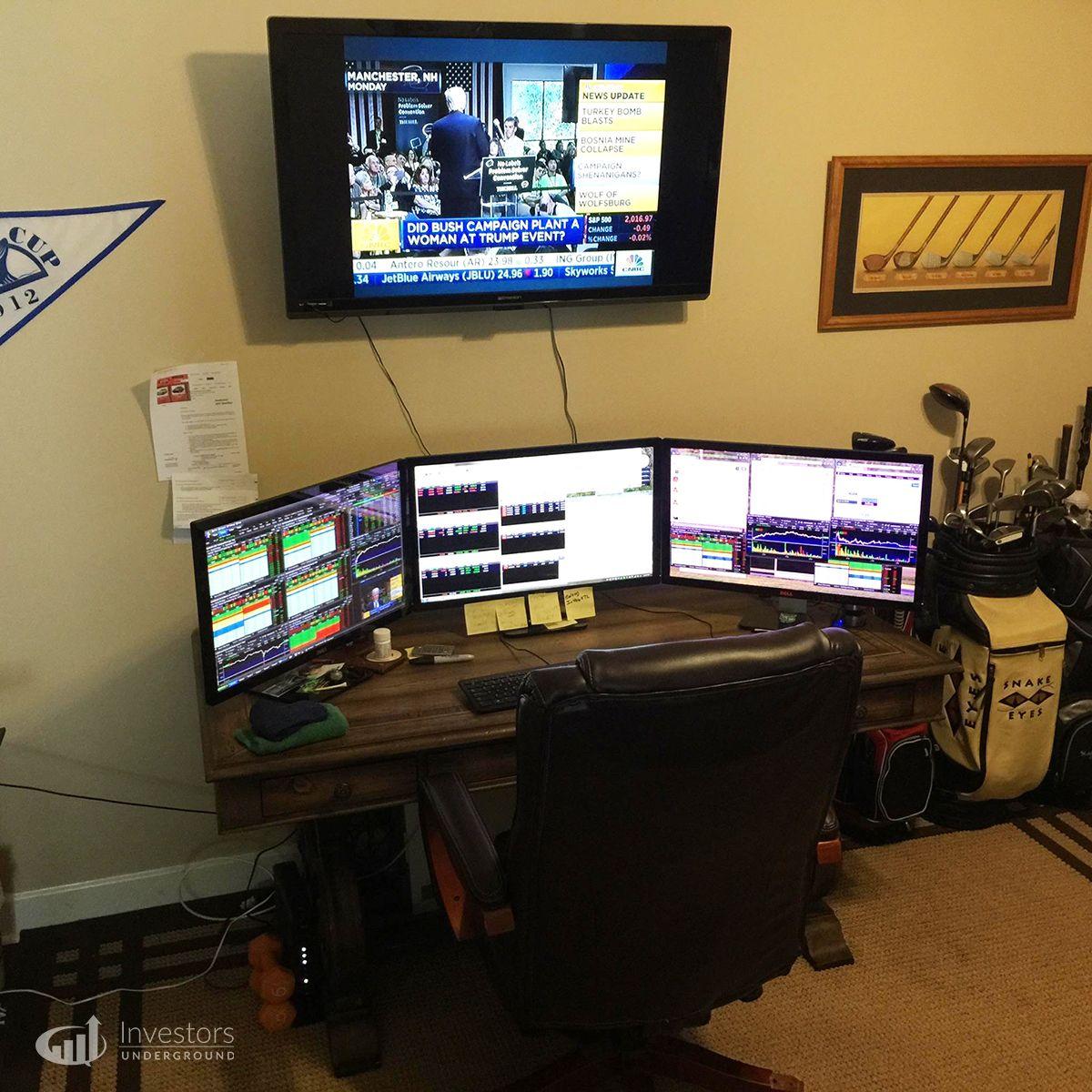 Forex trading office setup