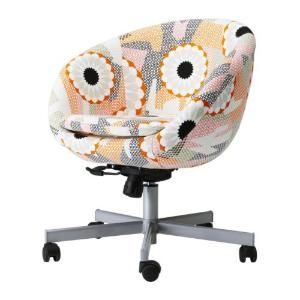 SKRUVSTA Swivel chair Ankarsvik multicolor IKEA | Retro