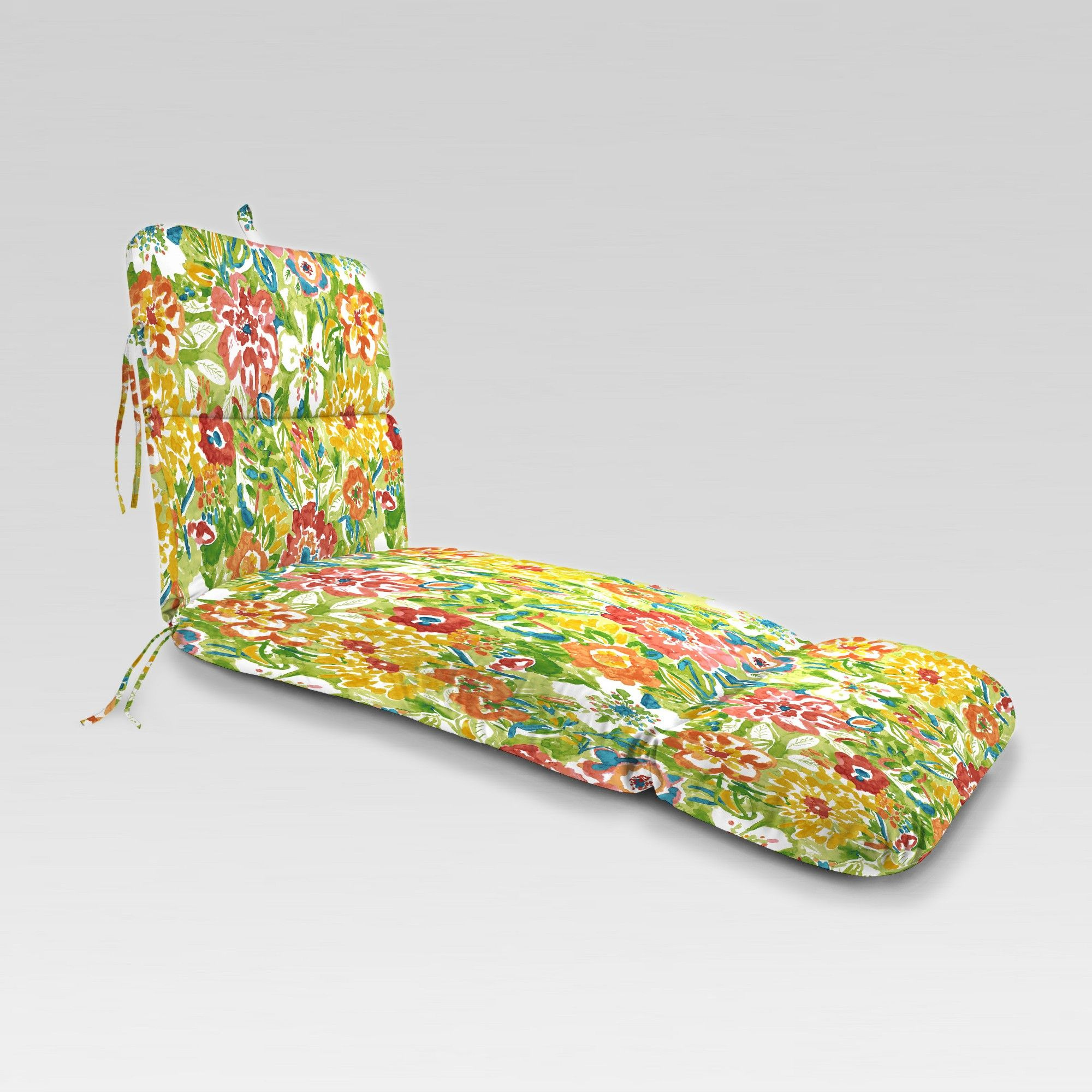 Outdoor Knife Edge Chaise Lounge