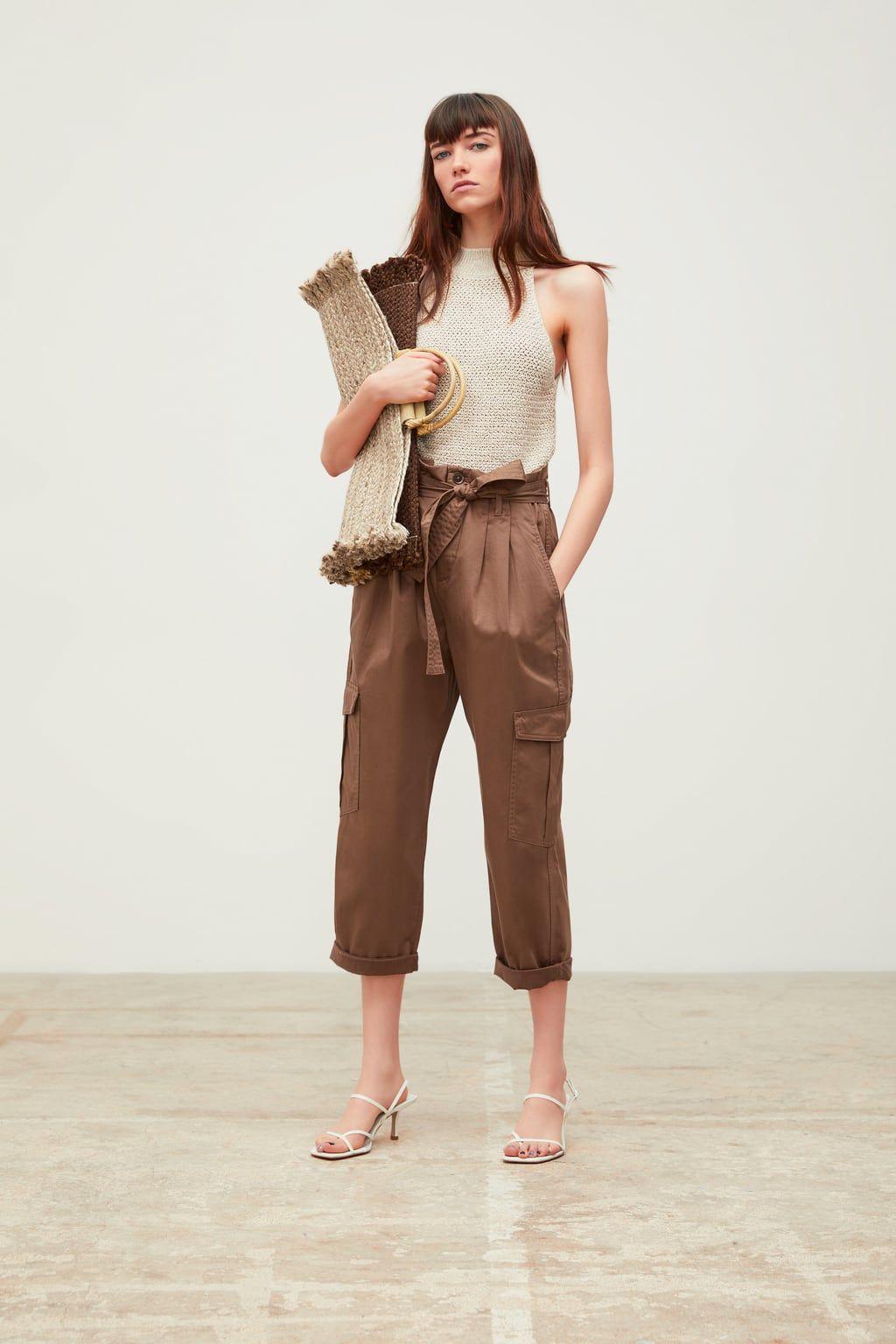 Pantaloni Italia Collezione Zara Outfits DonnaNuova Da Online N8n0mw
