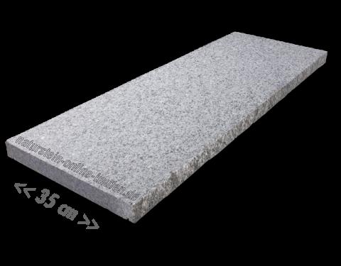 Mauerabdeckungen Granit Hellgrau 100x35x4 Cm Mauerabdeckung Granit Mauer