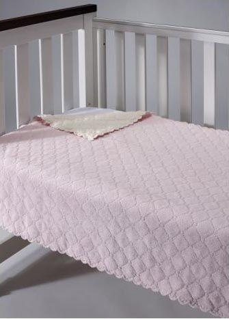 Mora Baby Blanket - Nana Pink