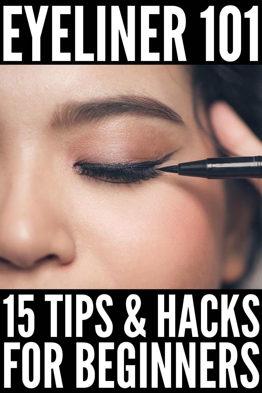 Eyeliner Hacks for Beginners: 15 Makeup Tricks We Love        15 Eyeliner Hacks for Beginners | Lea