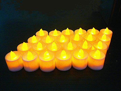 Yiyu Sujiao Flameless Candles Illumination Set Home Decor Electric Candles For The Perfect Holiday Gifts Battery Op Tea Candles Wedding Tea Candles Tea Lights