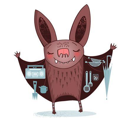bat wings. Bat art, Animal sketches, Doodles