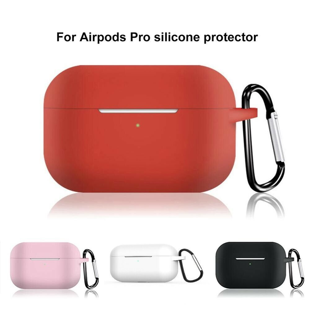 For apple airpods pro case protect silicone cover skin