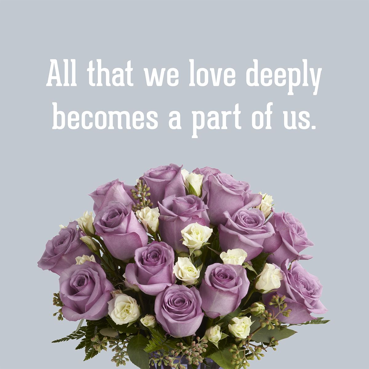 Helen Keller Quote On Love And Life So True Quotes Bouquet From Http Www Sendflowers Com Product The Purple Roses Flower Arrangements Floral Arrangements