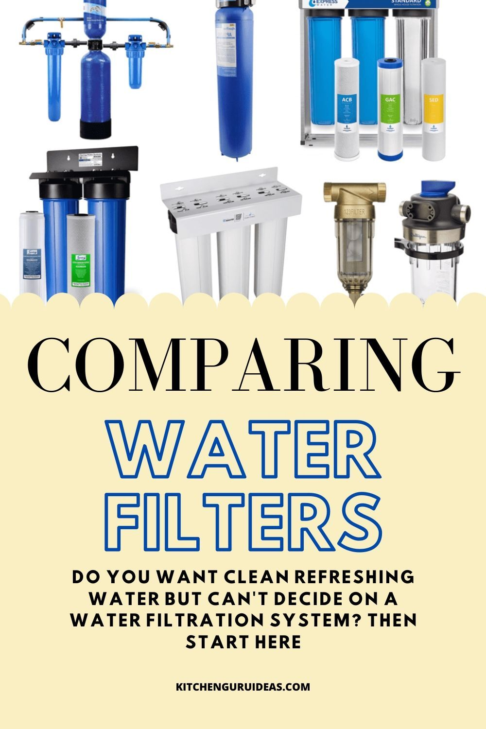 Comparing Water Filters In 2020 Countertop Water Filter Under Sink Water Filter Best Water Filter
