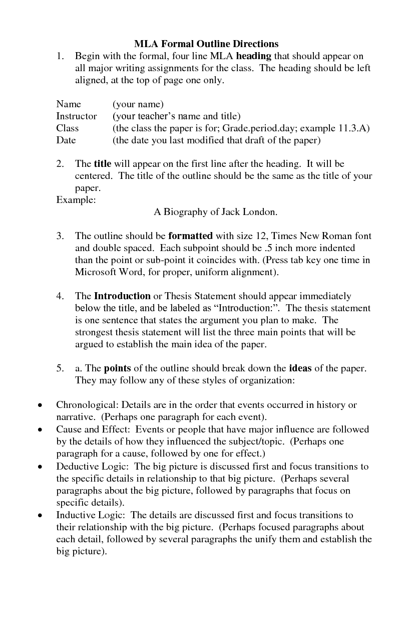 how to make a thesis statement for mla essay