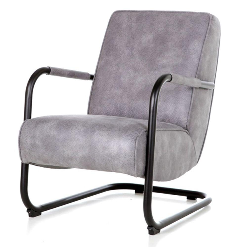 Lounge Sessel Pien Vintage Anthrazit Grau Sessel Armlehnstuhl Sessel Kaufen