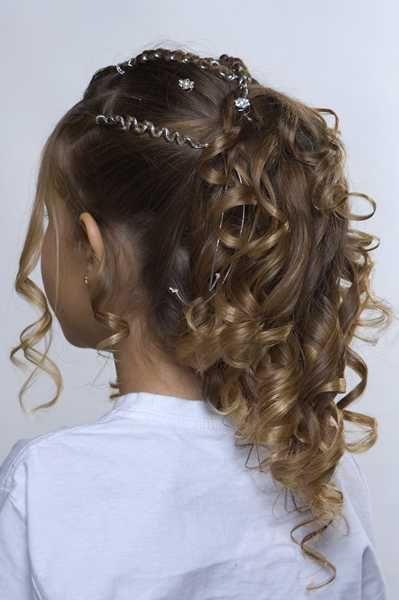 Penteados de cabelo para formatura infantil