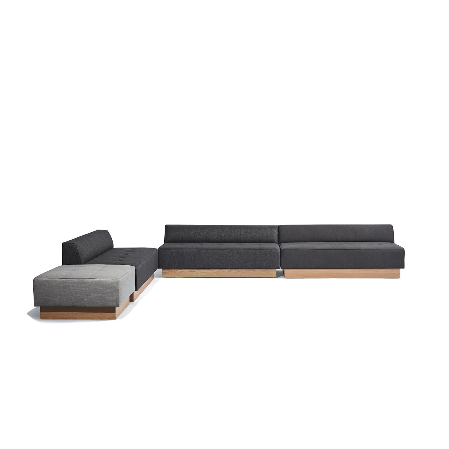 Conover Plinth Base Sectional Products West Elm Workspace