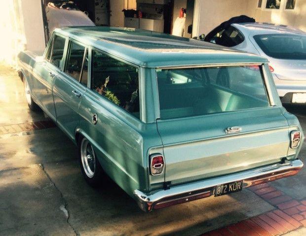 307 5 Speed Swapped 1963 Chevrolet Nova Wagon Restomod Chevrolet Nova Station Wagon Cars Chevy Classic