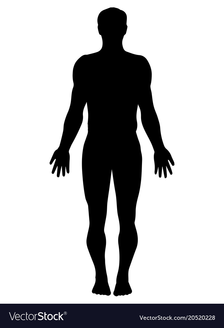 Full Body Silhouette Of A Man Google Search Silhouette Vector Silhouette Images Person Silhouette