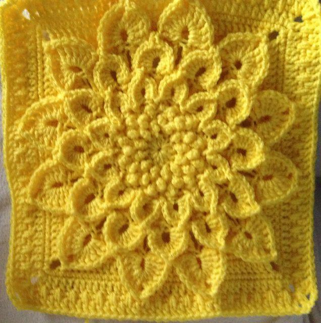 The Crocodile Flower pattern by Joyce D. Lewis | Häkeln ...
