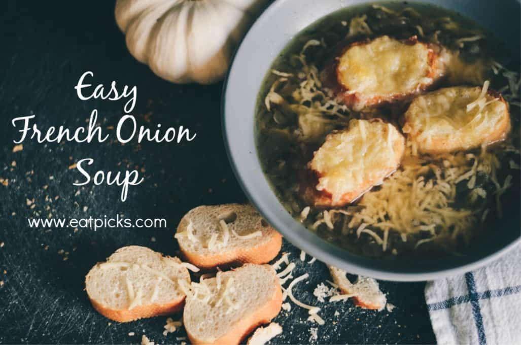 Photo of Easy French Onion Soup recipe #cream Soup Appetizers #delicious #dinners Soup Ap…