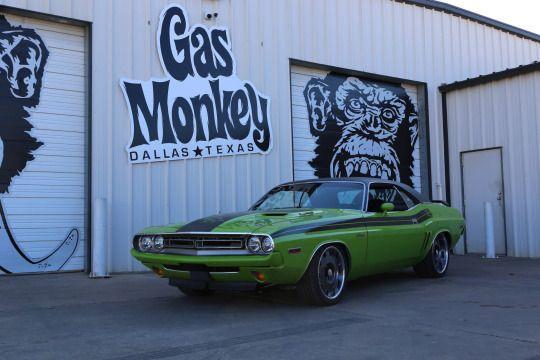 Gas Monkey Dodge Challenger Gas Monkey Rides Gas Monkey Gas