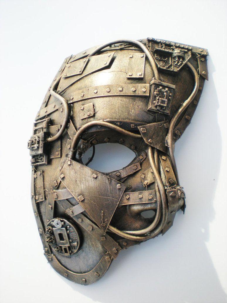 Steampunk Mask Fittings | Steampunk, Steampunk mask and Masking
