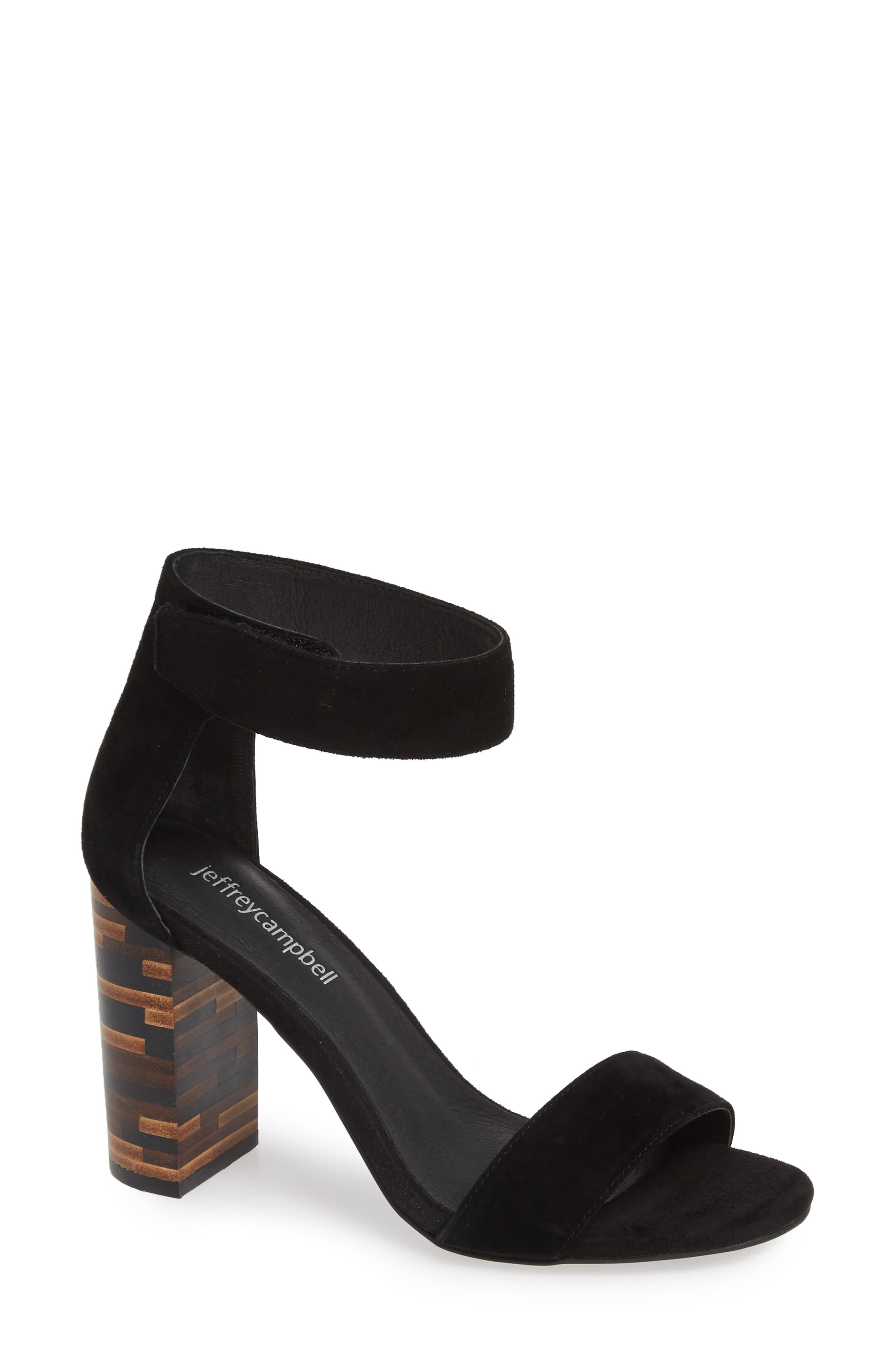 Jeffrey Campbell Lindsay Statement Heel Sandal Women Heels