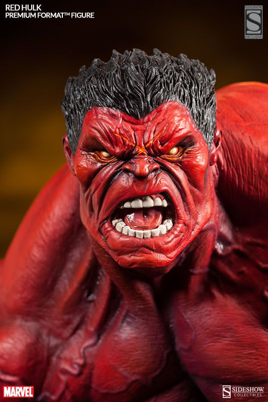 Red Hulk / Premium Format Figure / Quarter Scale / Sideshow Collectibles
