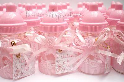 Mini Mamadeiras Decoradas Para Lembrança De Nascimento Chá De Bebê