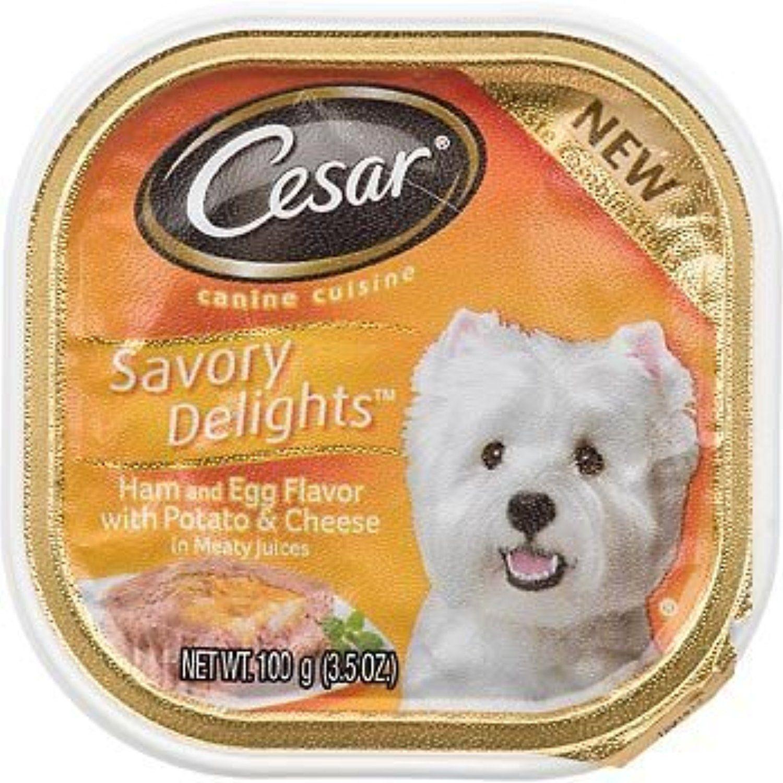 Mars Pet Care 798294 Cesar Sav Del Ham Egg 24 3 5 Oz Pack Of 24