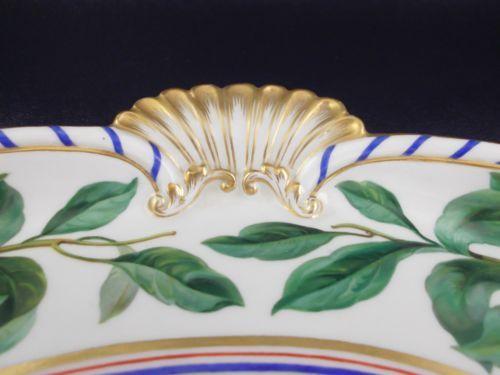 Antiguidade-excepcional-Meissen-pintado-a-mao-Ouro-incrustado-Jogo-De-Cha-Prato-Para-Servir