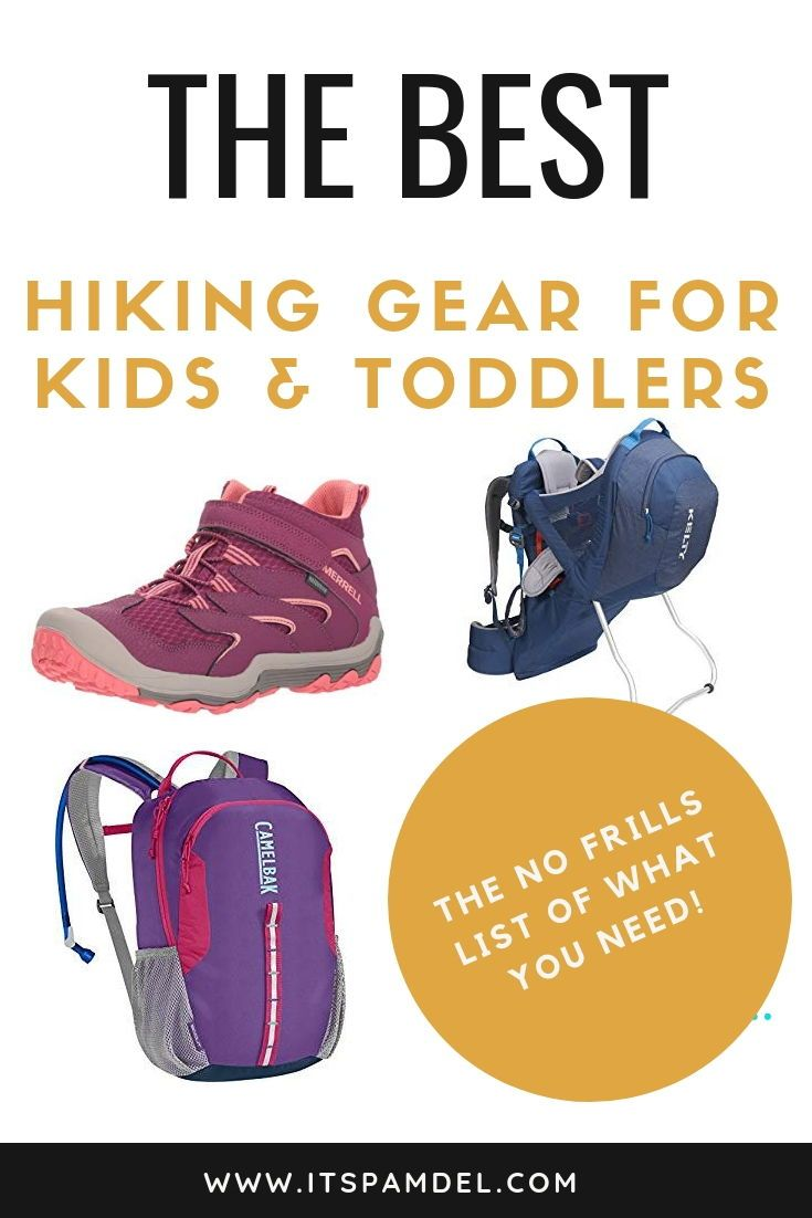 Photo of 4 Must Have Items when Hiking with Toddlers & Kids   It's Pam Del