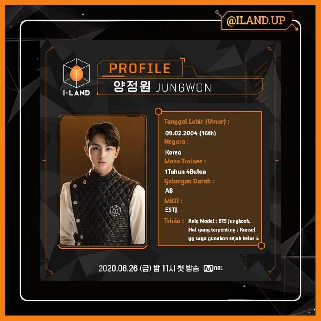 Profile Jungwon I Land Tanggal Mbti Jepang