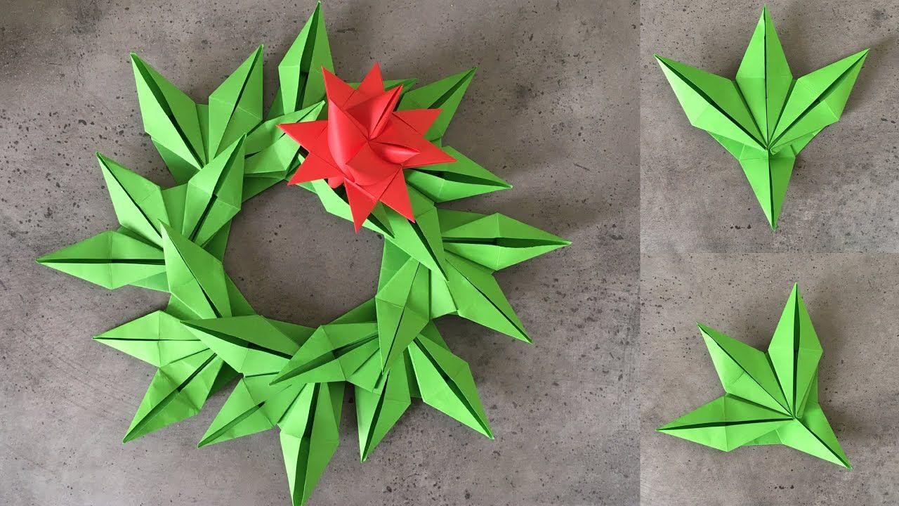 Christmas DIY: How to Make Origami Christmas Decorations | 720x1280