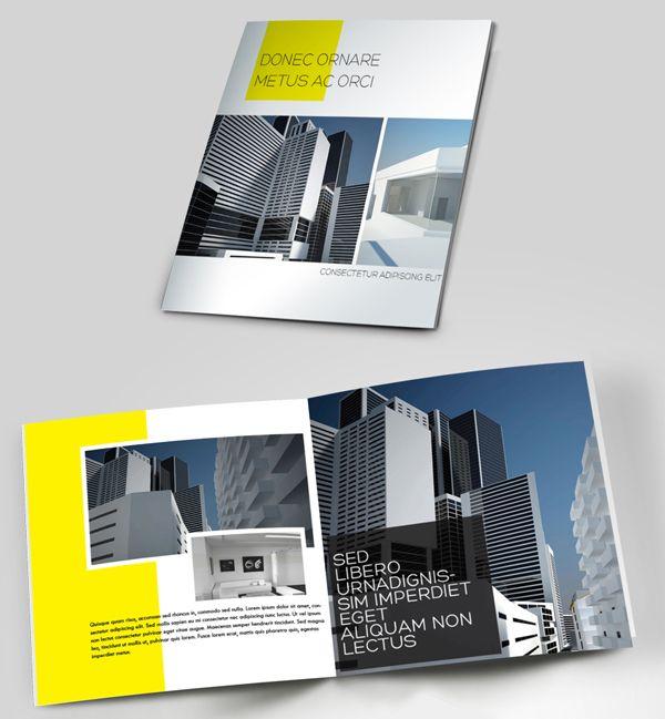 50 Creative Corporate Brochure Design ideas for your Inspiration - brochure design idea example