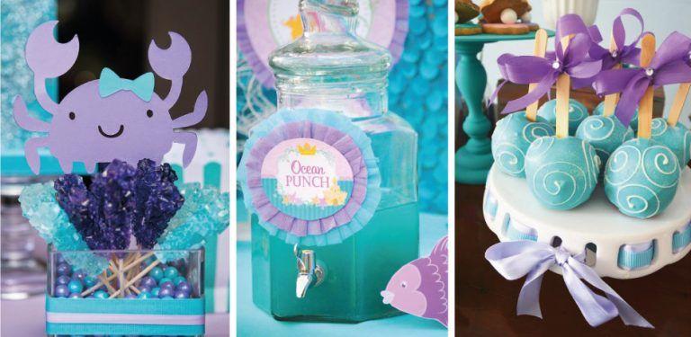 Ideas para fiestas de la Sirenita Ariel | la sirenita ...