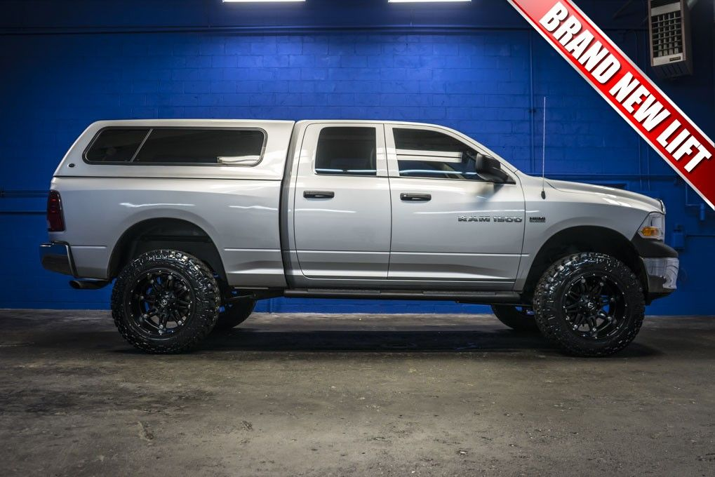 2011 Dodge Ram 1500 4x4 Truck With A Brand New Lift Package