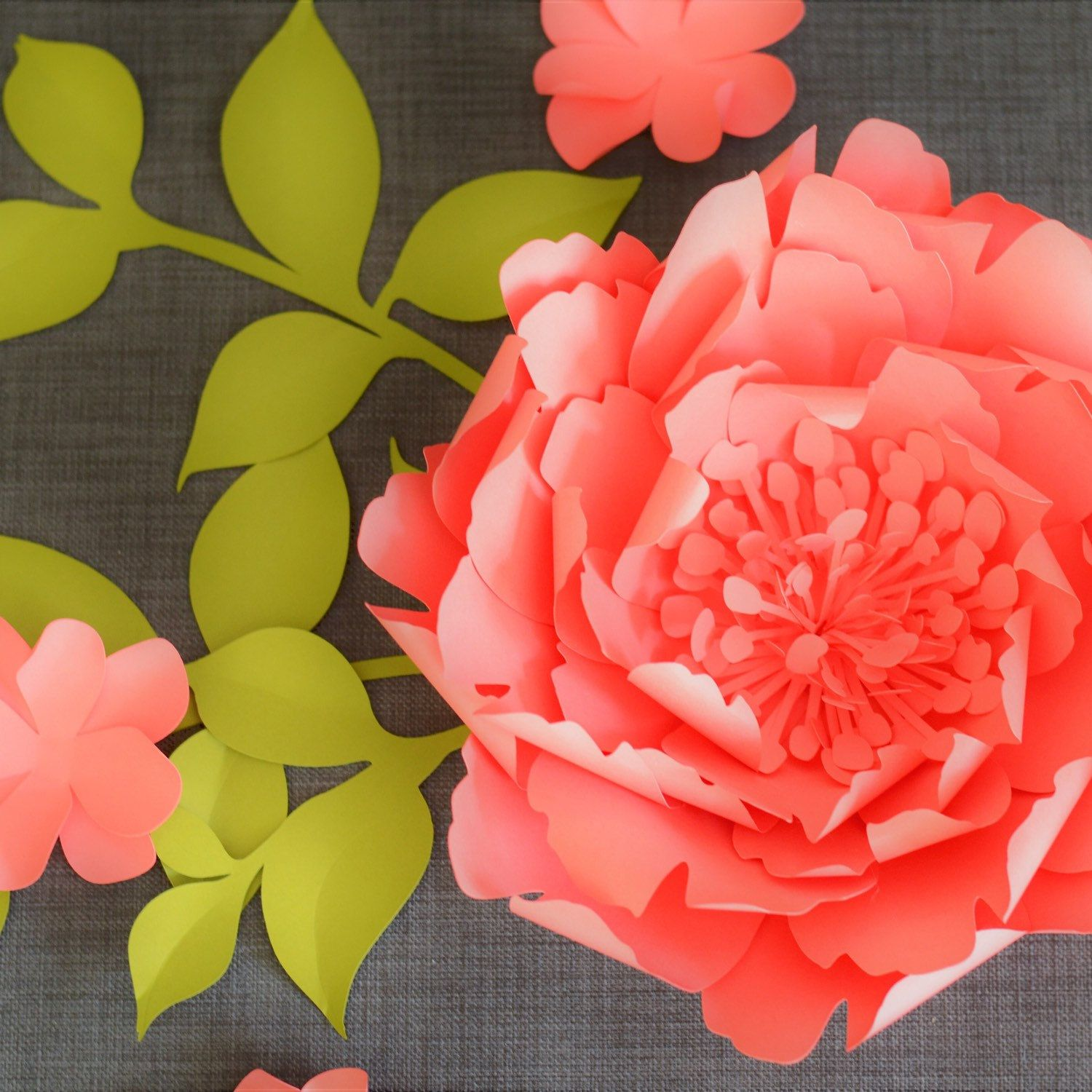 Seattlegiantflowers Shared A New Photo On Paper Flowers Template