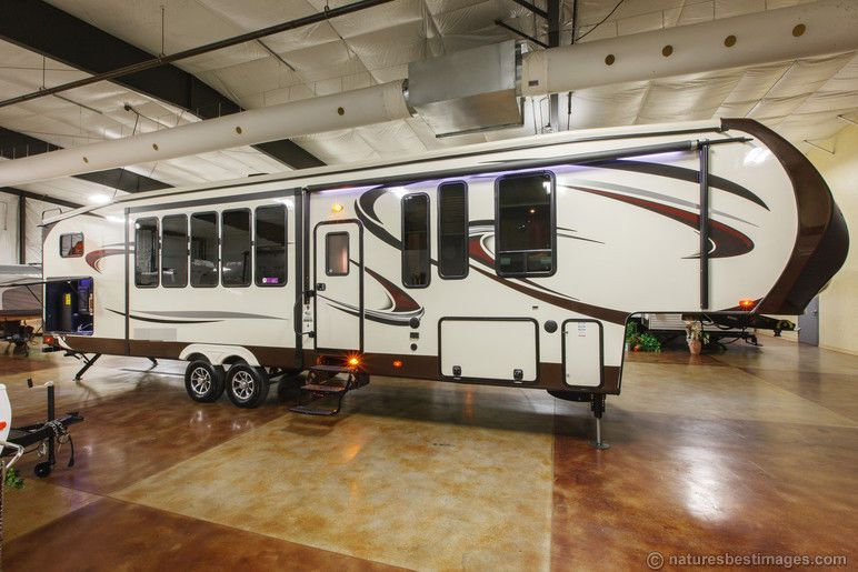 fifth wheel campers with bunkhouse and outdoor kitchen modern cabinet pulls wowwee chip robot toy dog white rv s wheels camper new 2014 376bhok 5th travel trailer it a forest river sandpiper is just beautiful