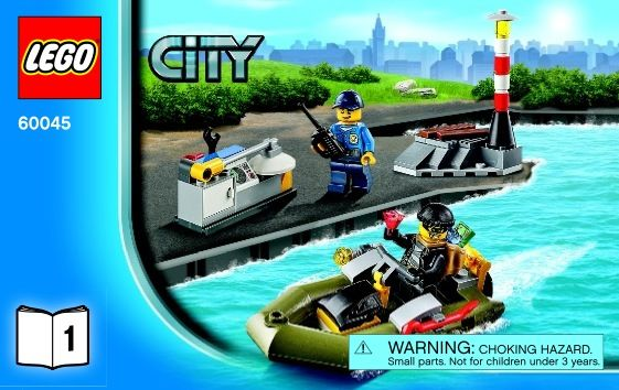 View Lego Instructions For Police Patrol Set Number 60045 To Help