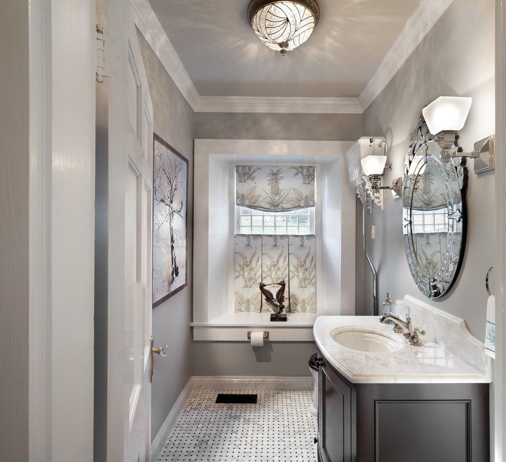 Astonishing Crystal Light Decorating Idea For Bathroom