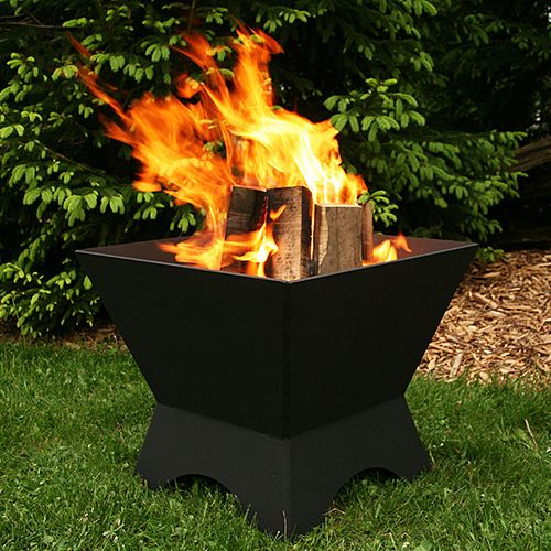 Iron Embers 2 Modern Cube For The Urban Backyard This The
