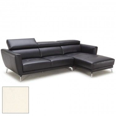 Atticus Sectional Black Leather Sectionals Sofas Chairs