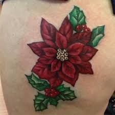 Image Result For Christmas Poinsettia Tattoo Tattoos Inspirational Tattoos