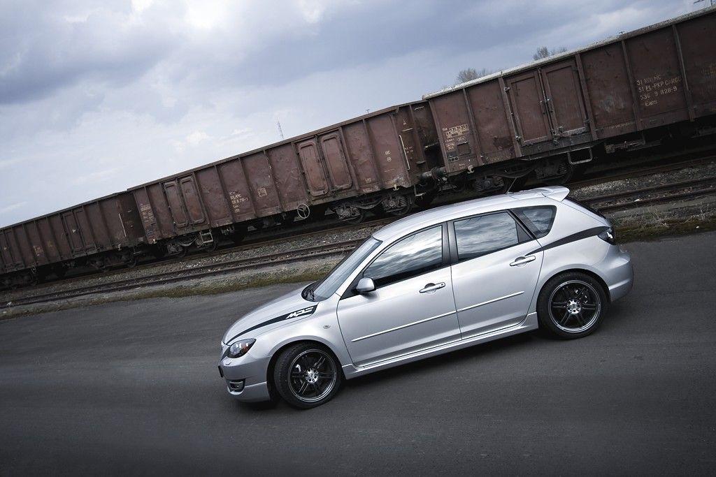 Silver Mazda 3 Mps