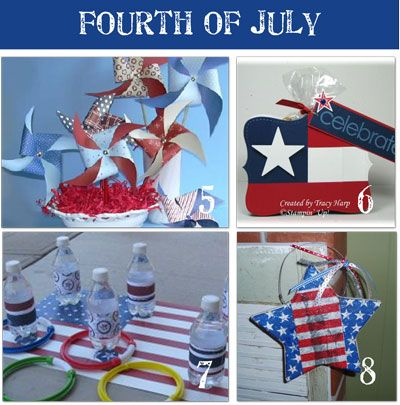 4th Of July Home Decor 5 Fourth Of July Pinwheel