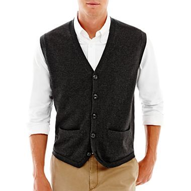 Haggar® Sweater Vest - jcpenney | Men's Fashion & Accessories ...