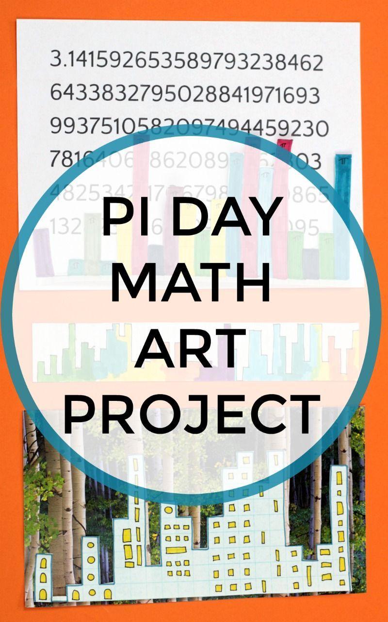 Pi Day Math Art For Kids Pi Skyline Teacher Resources Elementary Math Art Activities Math Art [ 1280 x 800 Pixel ]
