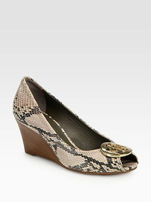 Tory Burch python printed pumps buy cheap reliable pictures online sale wholesale price discount latest wTHV0