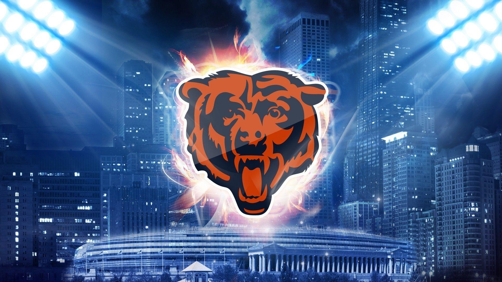 10 Most Popular Chicago Bears Hd Wallpaper Full Hd 1080p For Pc Desktop 2019 Chicago Bears Wallpaper Chicago Bears Logo Bear Wallpaper