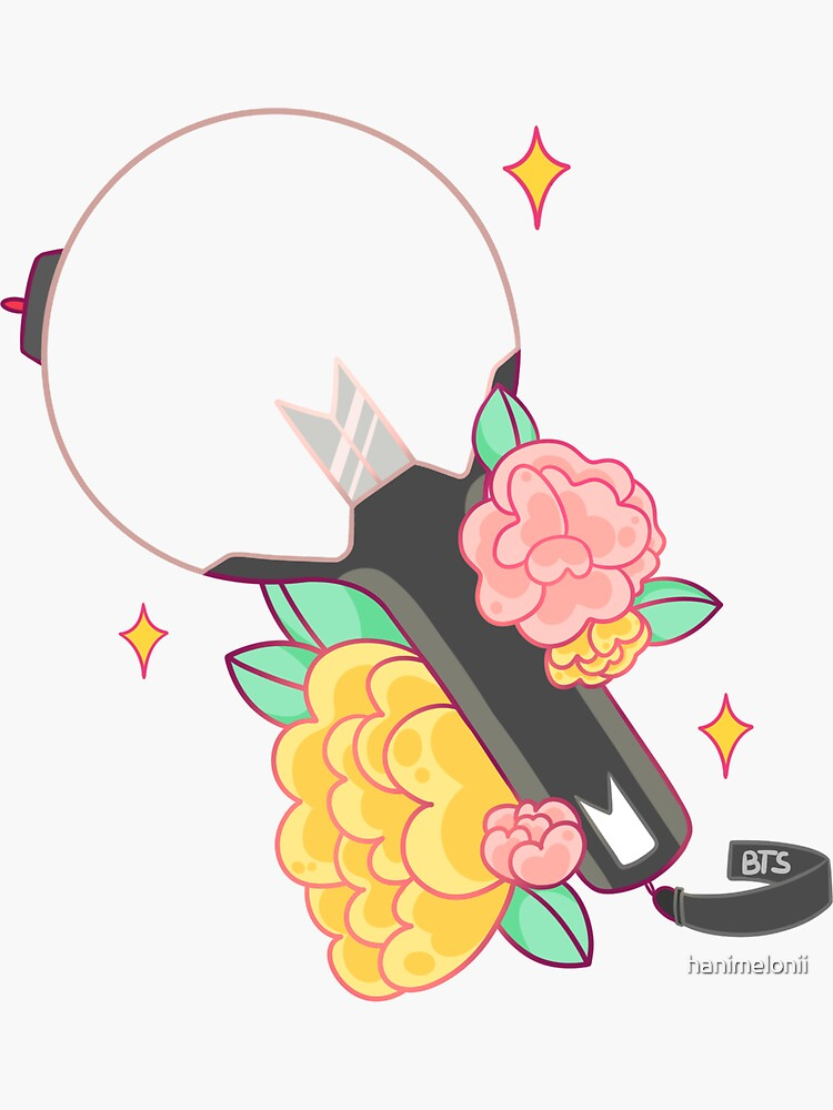 Bts Army Bomb Cute Design Sticker By Hanimelonii In 2020 Bts Army Bomb Bts Tattoos Bts Drawings