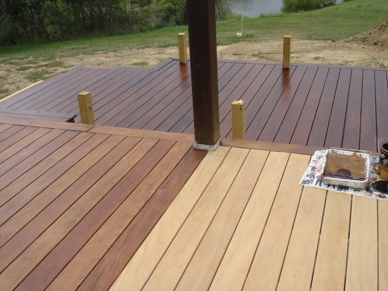Deck Stain Paint Colors Pinterest Oak Stain Decking And Covered Decks